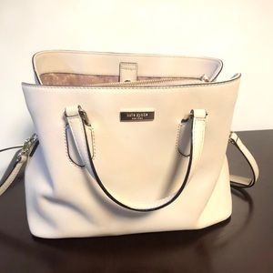 Kate spade off white/beige handbag